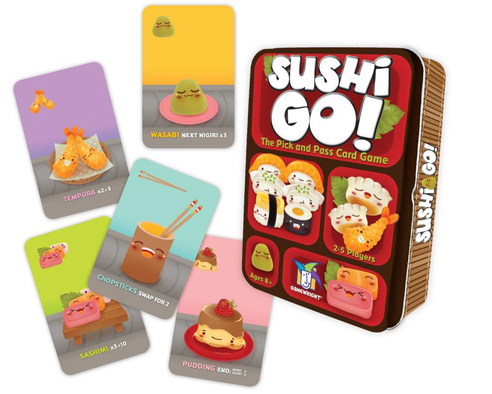 Sushi Go -  Gamewright Games