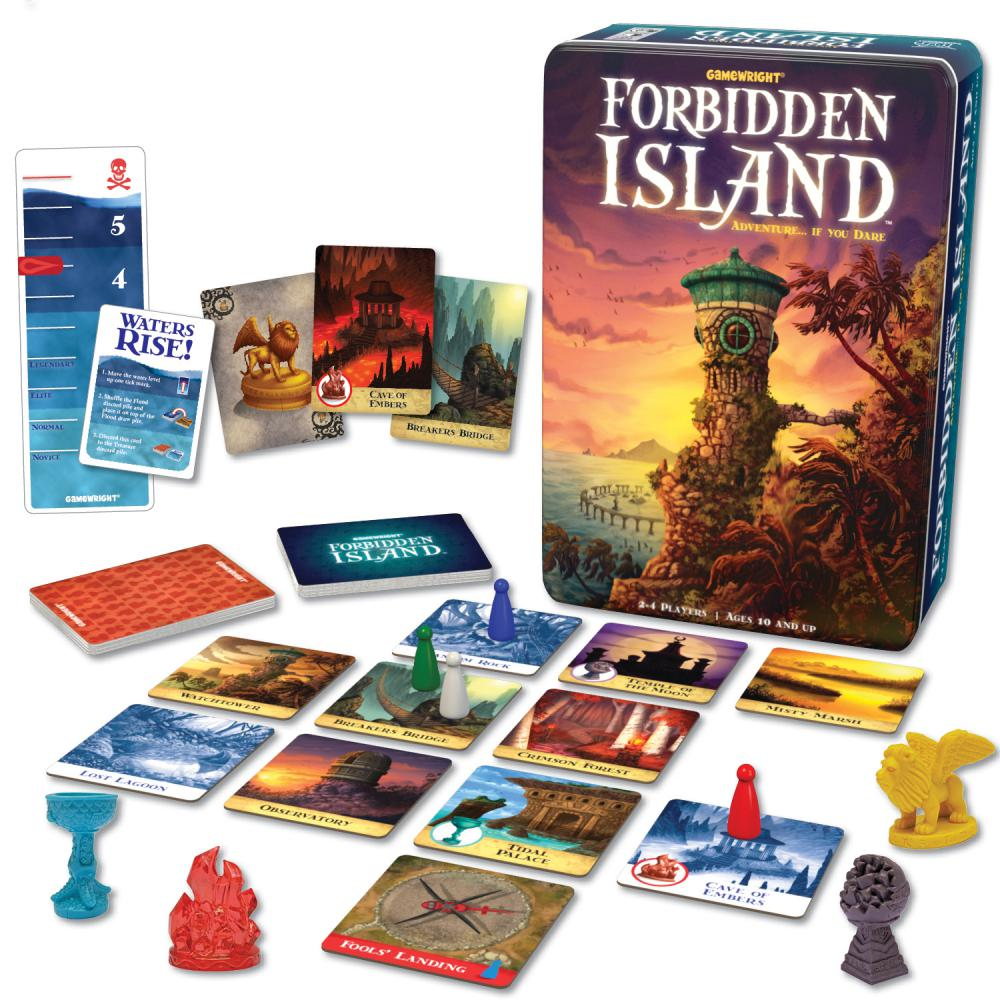 Forbidden Island  -  Gamewright Games