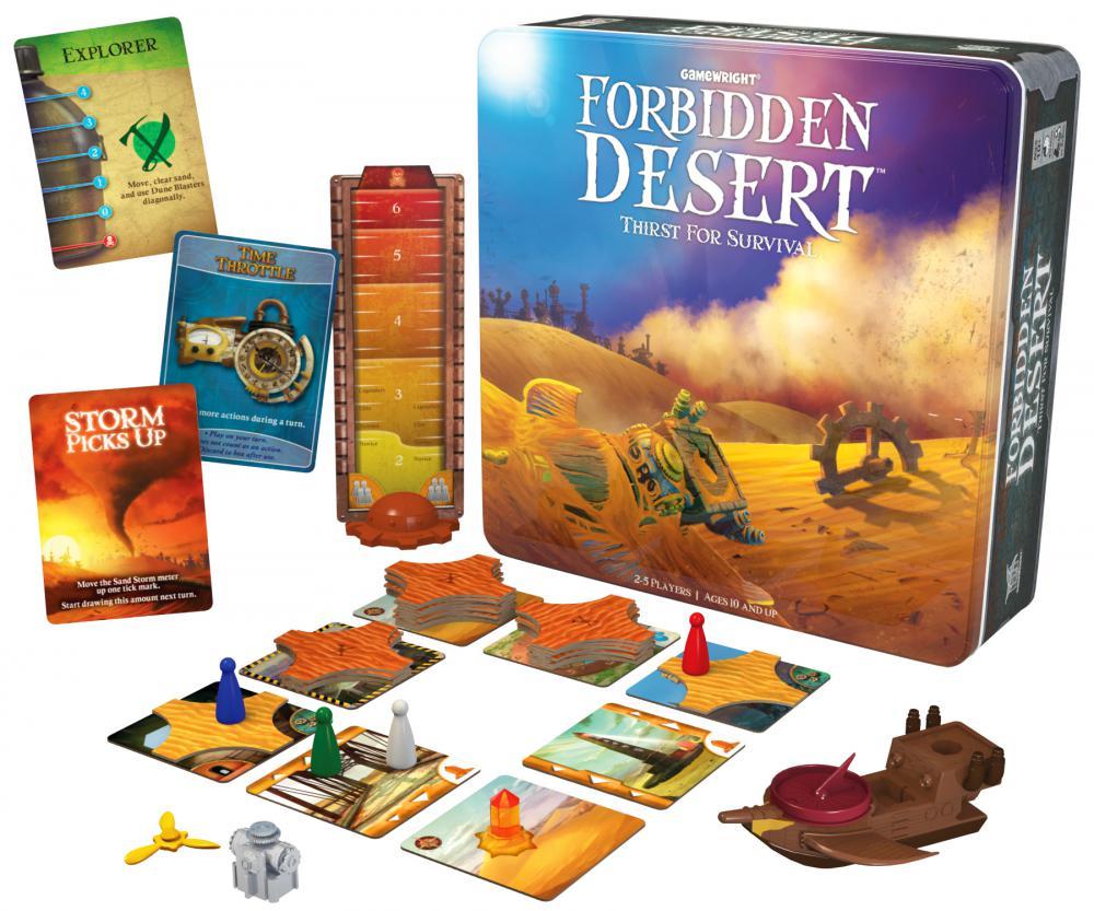 Forbidden Desert -  Gamewright Games