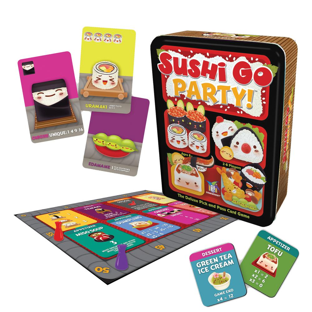 Sushi Go Party Game -  Gamewright Games