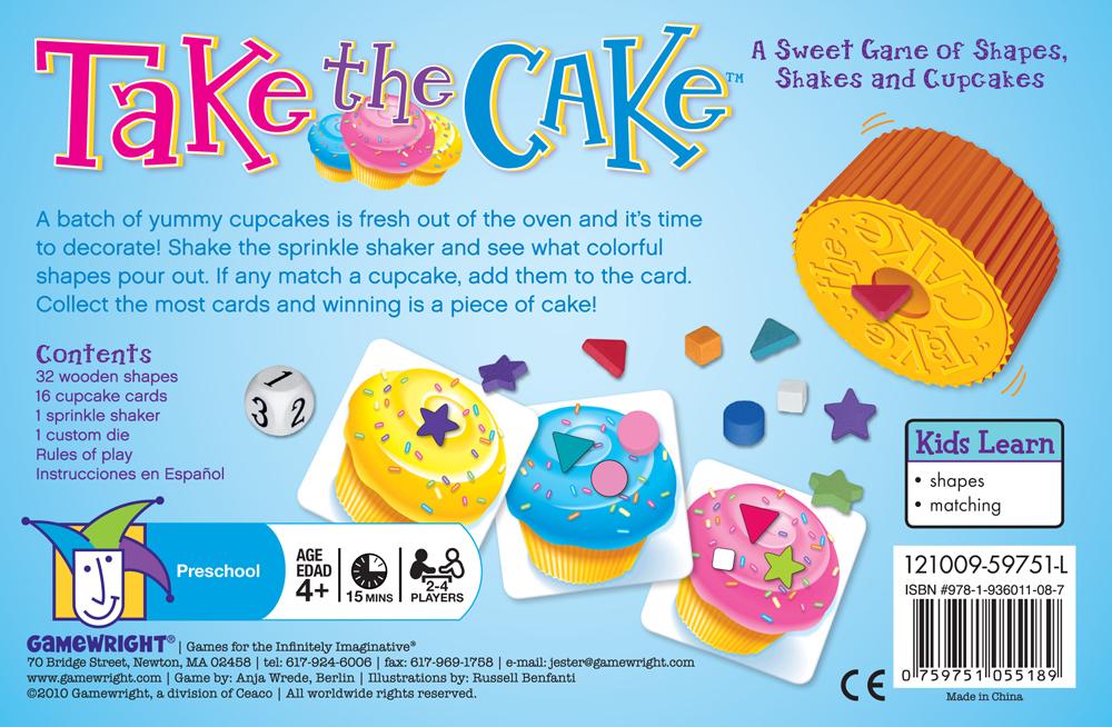 Take the Cake | Gamewright