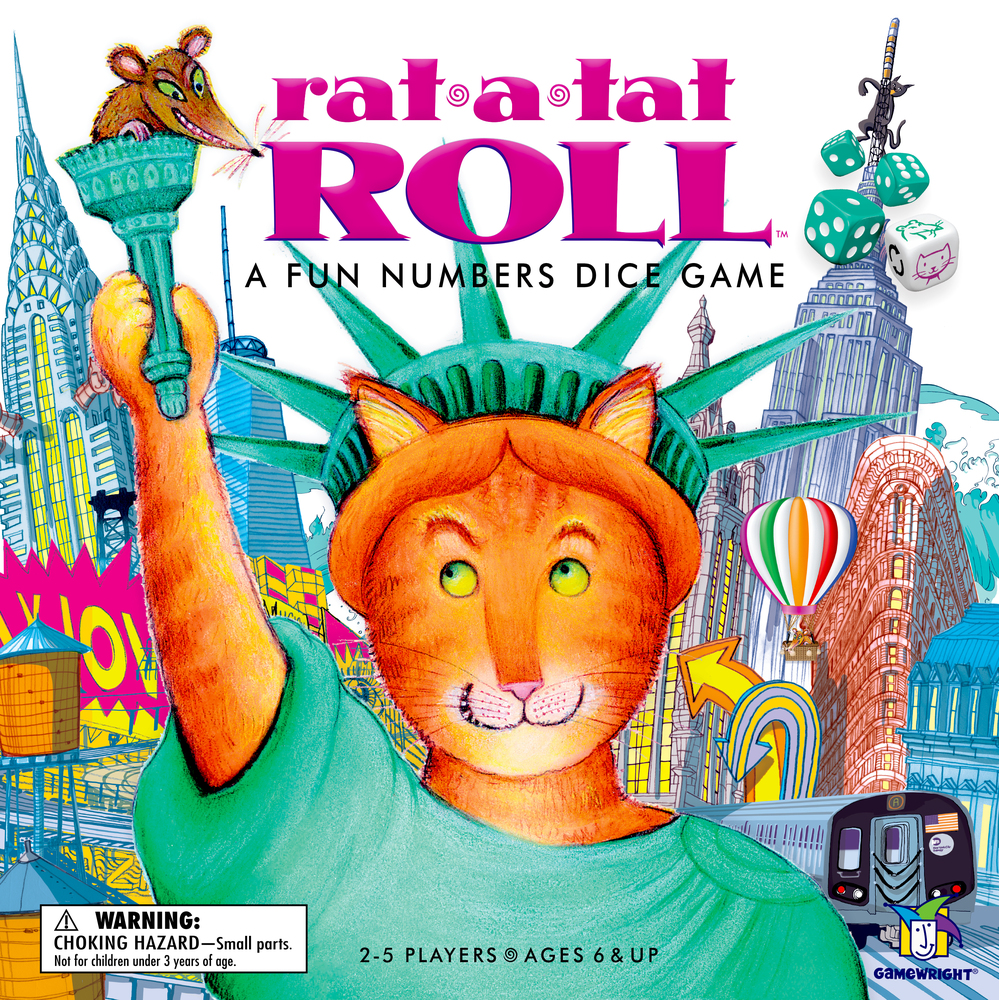 Rat a Tat Roll -  Gamewright Games