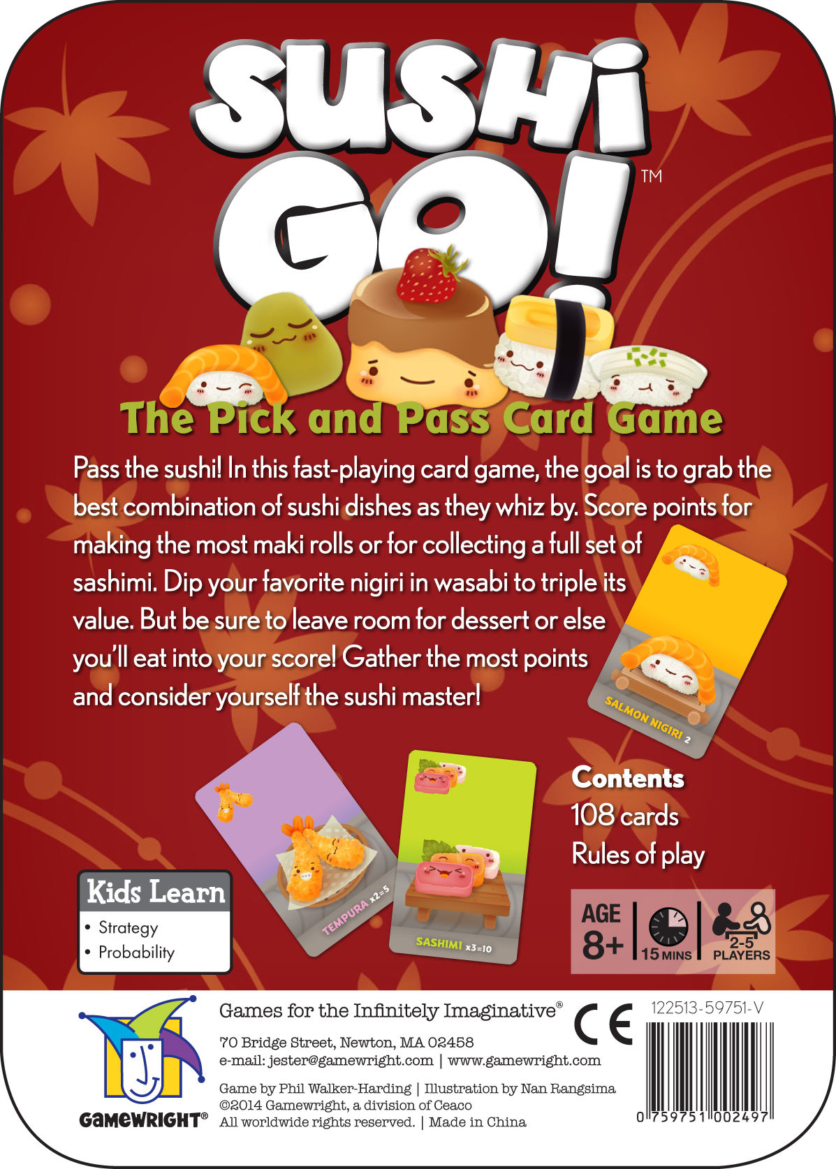 Sushi Go Party! for sale online | eBay