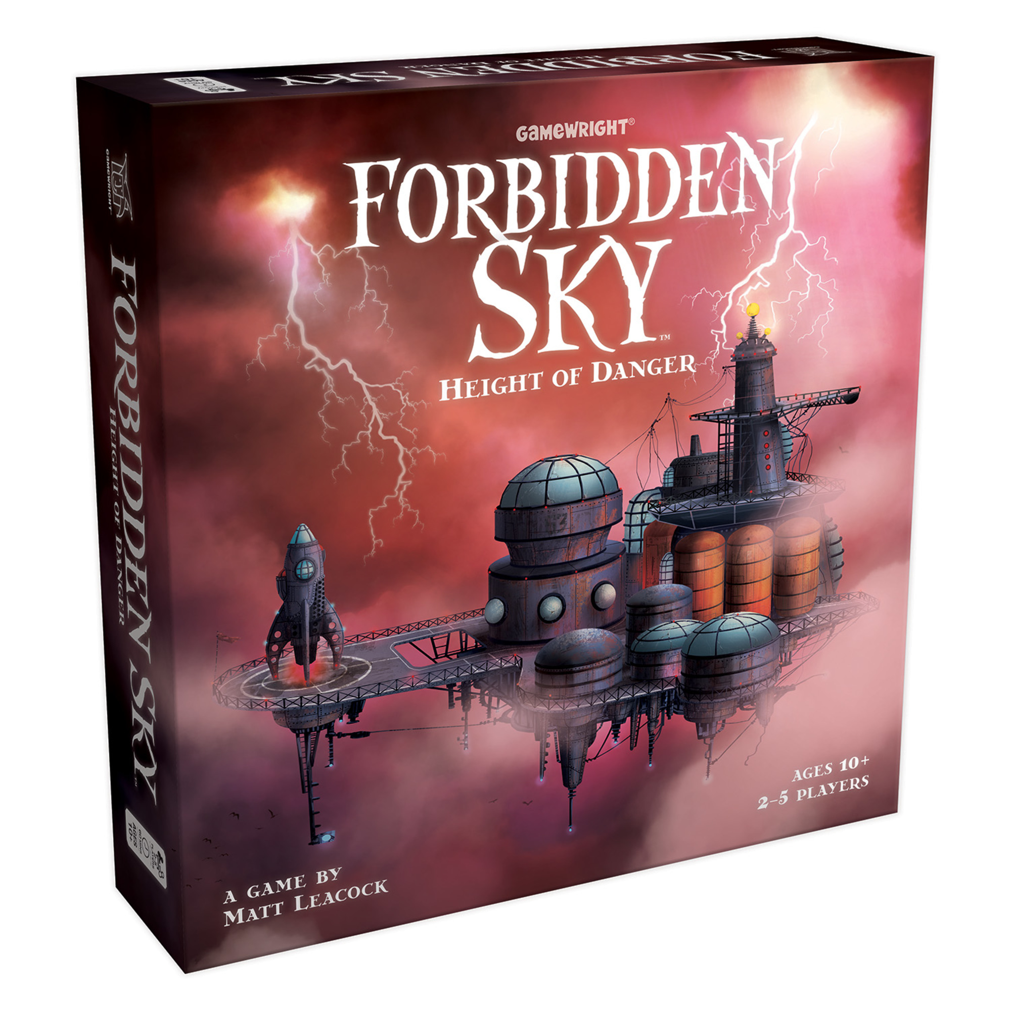 Forbidden Sky Height Of Danger Gamewright Game Show Circuit 5