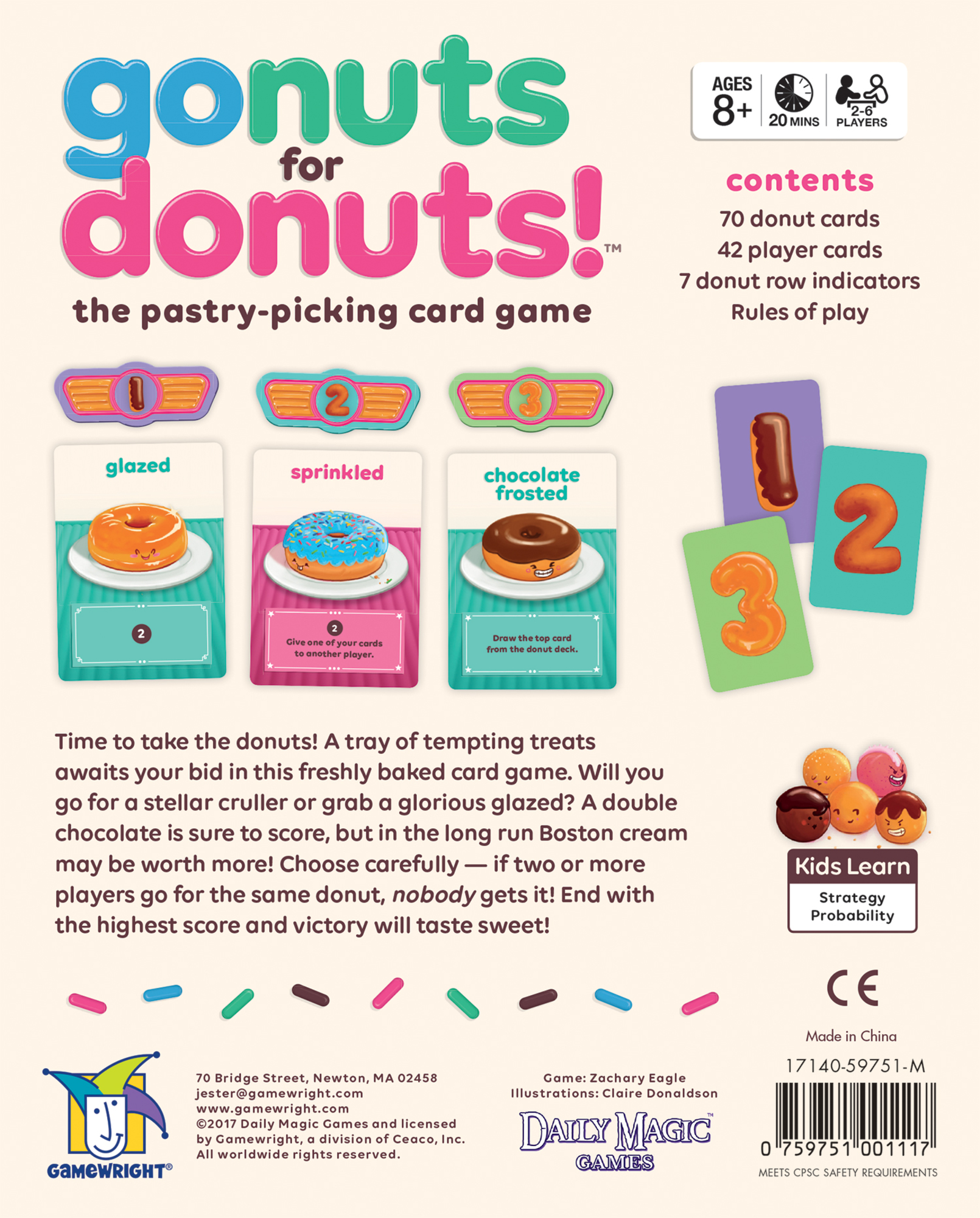 Go Nuts For DonutsTM